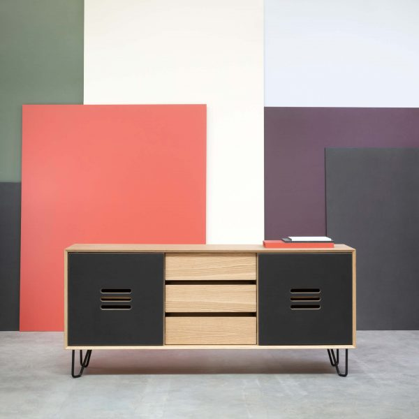 SIDEBOARD NOBLE WITH 3 DRAWERS