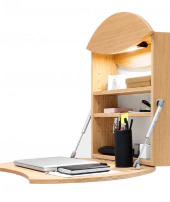 Wall desk RADIUS