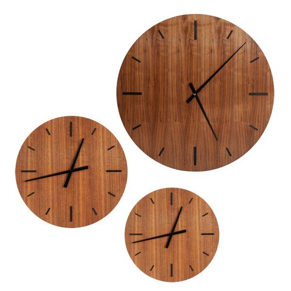 CLOCK TAIM WALNUT