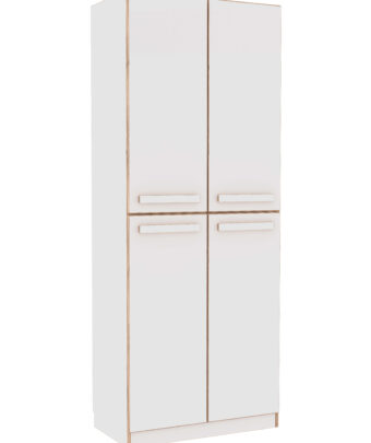BOXY CABINET WITH SHELVES