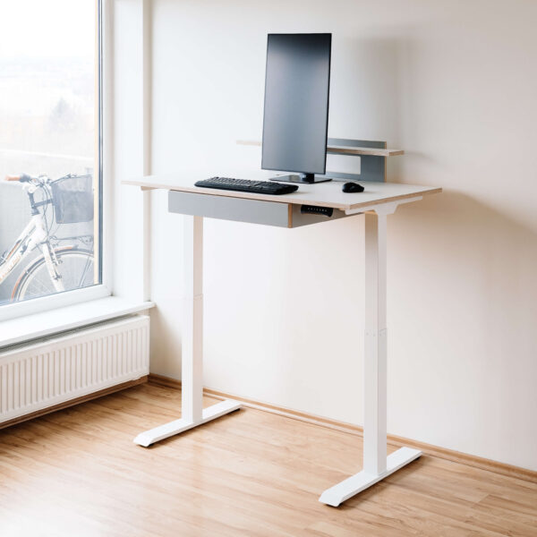 DESK VISTA WITH ELECTRICAL LEGS