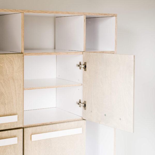 SIDEBOARD-SHELF BOXY